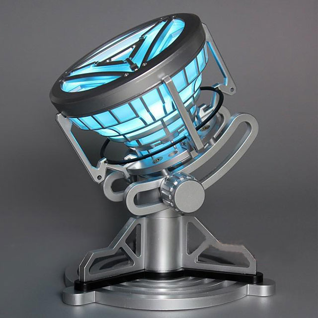 For You Iron Man Enthusiasts, This Is An Arc Reactor Model That Shows Just  How Big Of A Heart He Truly Has.